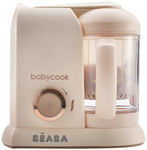 Beaba Rose Gold 4 in 1 Steam Cooker & Blender