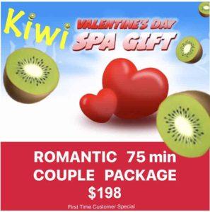 Kiwi Spa Organic facial innovation vday special