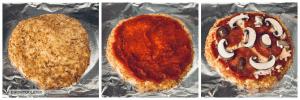Shirataki Pizza Process Step 5