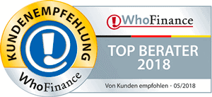WhoFinance Deutschlands Top Berater 2018