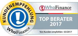 WhoFinance Deutschlands Top Berater 2017