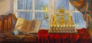 Chanukah painting