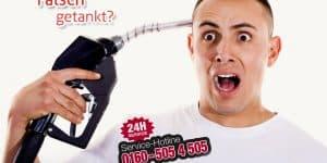 Kundenerfahrungen falsch-getanktfalsch getankt Notrufnummer 0160505450
