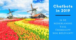 Nederlandstalige chatbots in 2019