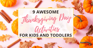 thanksgiving day activities for kids and toddlers