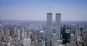 Photo of World Trade Center towers