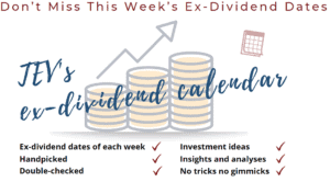 The European View TEV Blog Ex-dividend Date