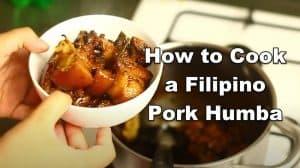 Filipino Humba Recipe