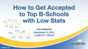 How to Get Accepted to Top B-Schools with Low Stats