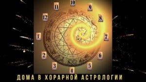 дома в хорарной астрологии
