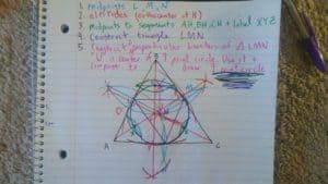 9 point circle