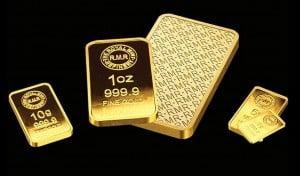 Royal Mint Gold Barren