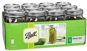 Ball Pickle Canning Jars