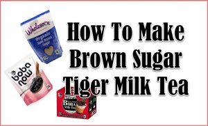 tiger milk tea