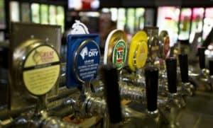 Beer taps; Queensland liquor licences