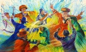 jewish dance painting
