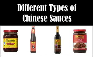 Different Types of Chinese Sauces