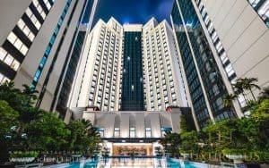 Kiến trúc khách sạn Crowne Plaza
