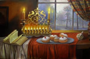 Chanukah Painting