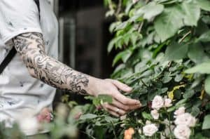 Blumen Tattoo