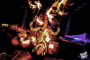 Hestia Fire dance show
