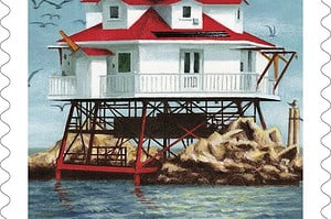 Thomas Point Light U.S. Postage Stamp to be Released