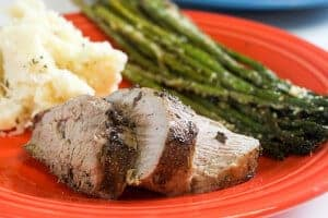 Pork Loin and Roasted Vegetables