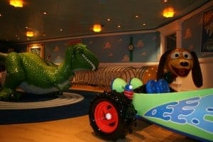 disney cruise, kids club, oceaneer club, disney fantasy, andys room, disney fantasy kids club, children activities