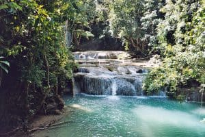 Erawan Falls: lower level