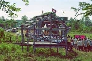 rural harvesting ceremony Stung Treng