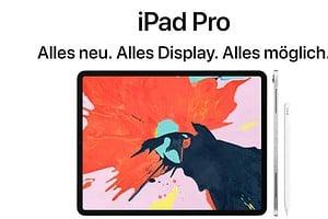 iPad Pro - jetzt mit ohne Home-Button und USB-C