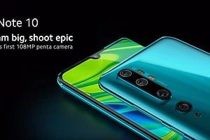 Xiaomi Mi Note 10 - viele Megapixel, großer Akku und sonst nichts