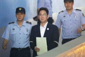 Samsung heir Lee Jae Yong charged for bribery scandal, gets 2.5 years of prison term