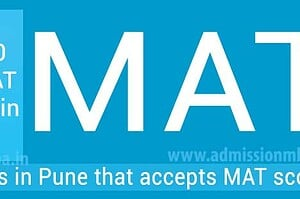 MBA Colleges in Pune Accepting Mat Entrance Exam