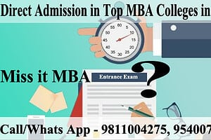 Direct MBA Admission without Entrance Exams 2020: CAT, XAT