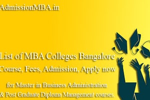 MBA Colleges in Bangalore City in Karnataka