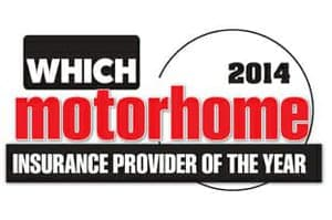 Motorhome Insurance Provider of the Year 2014