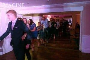 Jamie & Gareth's wedding reception at The Sheene Mill