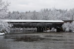 Perrine's Bridge After the Nor'Easter
