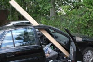 car-hauling-wood