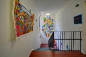 Royal kindergarten Prague stairs