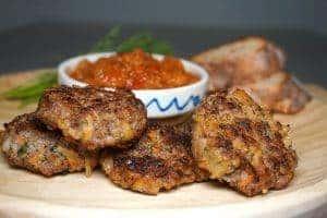 Romanian Meatballs - Chiftele