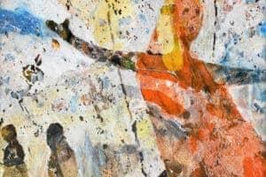 Tayseer Barakat, Unknown #10, 2018, acrylic on canvas, 31 x 27 cm
