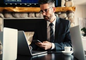 Use of lead capture software on multiple devices - OnSpot Social