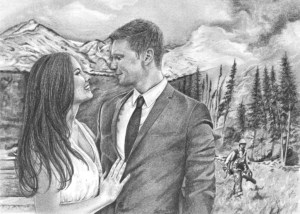 Portrait for Bride and Groom
