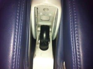 airplane safety, flybe armrest hinge, flybe airlines armrest