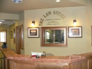 Jeanne Wilson Law Office Reception Area