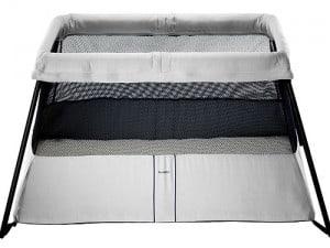 travel bed, travel crib, travel cot, baby bjorn, baby bjorn travel crib