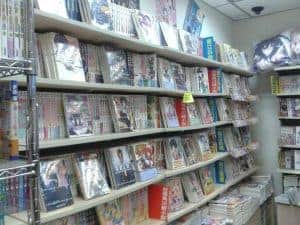 light novel bookstore