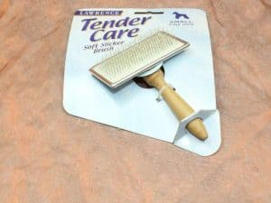 Lawrence Tender Care Slicker Brush Small 1 Pcs. 2 300x225 - Lawrence, Tender Care Slicker Brush Small , 1 Pcs.